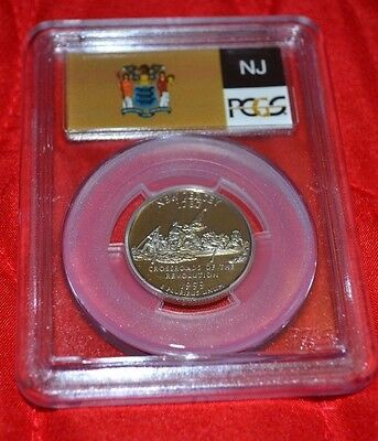 1999 S Pcgs Pf 69 Dcam New Jersey State Quarter Clad (A551)