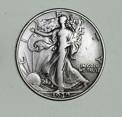 Strong Feather Details - 1939 Walking Liberty Half Dollars - Huge Value *966