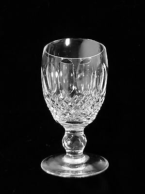 """Waterford Colleen Short Stem Cut Water Goblet 8 oz 5 1/2"""""""