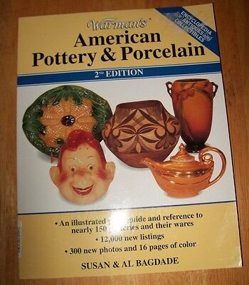 VINTAGE POTTERY / PORCELAIN PRICE GUIDE COLLECTOR'S BOOK 12,000+ Listings