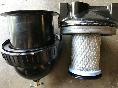 """NEW 1"""" Airline Heavy-Duty Compressed Air Filter w/drain and Filter Sand Blaster"""