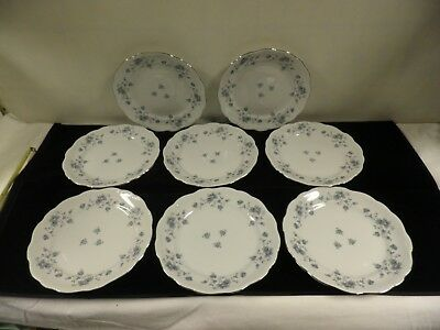 Johann Haviland Blue Garland Traditions Fine China  8 bread and butter plates