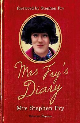 Mrs Fry's Diary by Mrs Stephen Fry (English) Paperback Book Free Shipping!