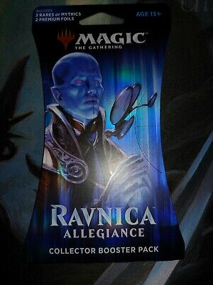 MTG Ravnica Allegiance Collector Booster Pack LIMITED