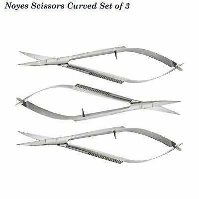 Dentiste Microsurgery Castroviejo, Suture Forcep, Noyes Ressort Dissection