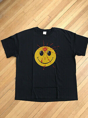 1990s grunge suicide have a nice day smiley face NIRVANA REPRINT T-Shirt vintage