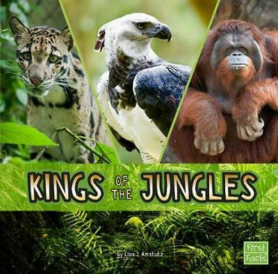 Kings of the Jungles by Lisa J. Amstutz Hardcover Book Free Shipping!