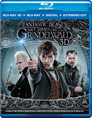 Fantastic Beasts: The Crimes Of Grindelwald Blu-Ray 3D | Blu-Ray | Johnny Depp