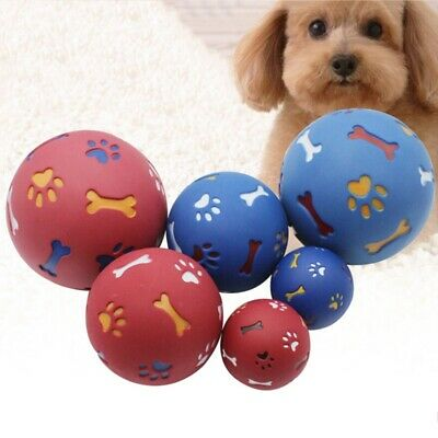 Pet Dog Puzzle Fun Toy Tough-Treat Ball Mental Food Dispenser  Play Ball