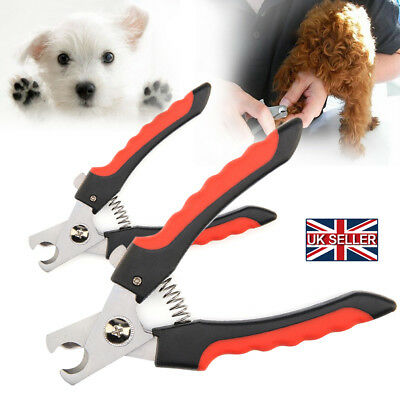 Large Pet Nail Clippers Claw Paw Dog Cat Animal Trimmers Scissors Cutter Tool