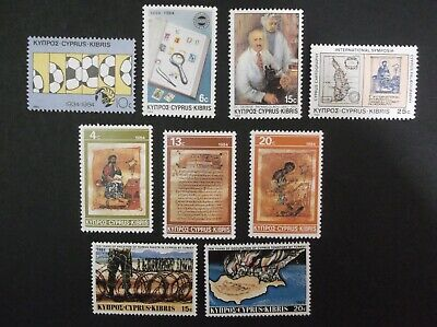 Cyprus 1984, 3 Complete Set: Turkish Landings In Cyprus, Events, Christmas, Mnh