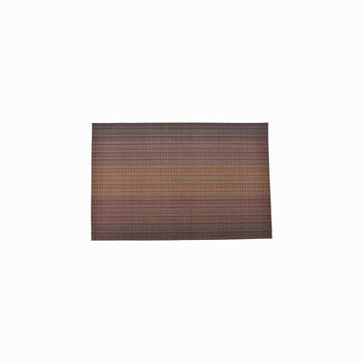 Lot de 4 Tapis de table antidérapant revêtement pour Table 35x45cm PCV Marron