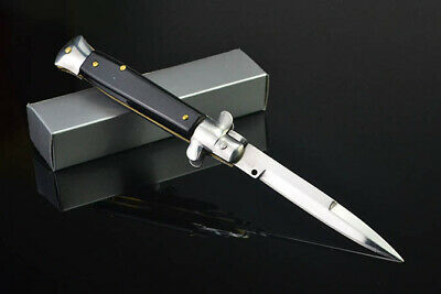 Coltello Automatic Serie Il Padrino The Italian Stiletto Con Sicura E Fodero