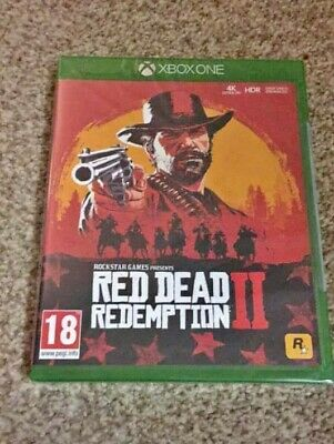 Red Dead Redemption 2 - Standard Edition (Xbox One, 2018) - Sealed