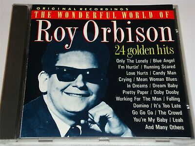 Roy Orbison - The Wonderful World Of - 24 Greatest Hits CD CD RMB75616