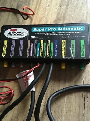 AutoCom Super pro Motorcycle Communication System