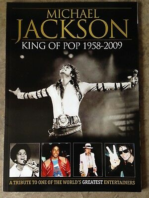 Michael Jackson. King Of Pop Souvenir Magazine Tribute Issue. 2009