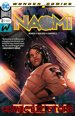 Naomi #2 (2019) 1St Printing Main Cover Bagged & Boarded Dc Wonder Comics