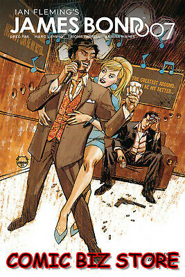 James Bond 007 #4 (2019) 1St Printing Johnson Main Cover A Bagged & Boarded