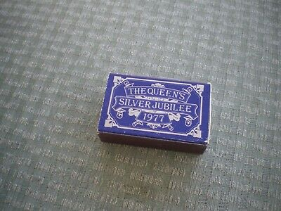 The Queens Silver Jubilee 1977 Box Of Matches