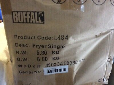 Buffalo Table Top Deep Fat Fryer