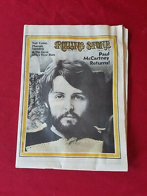 Rolling Stone April 30 1970 Paul McCarney Returns! The Stones Have not acted...
