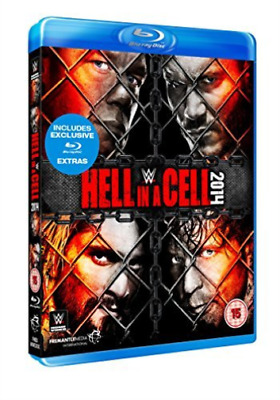WWE: Hell in a Cell 2014 (UK IMPORT) Blu-ray NEW