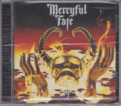 MERCYFUL FATE 1999 CD - 9 (Repress) King Diamond/Portrait/Attic/In Solitude -NEW