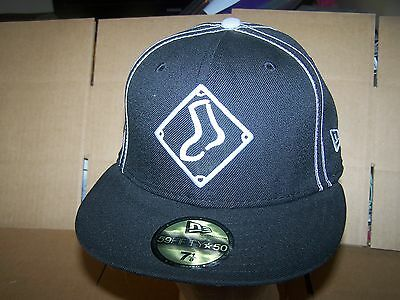 NEW VINTAGE MLB New Era Diamond Collection CHICAGO WHITE SOX Fitted ... a1f455c69b81