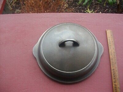 2nd GRISWOLD Cast Iron #5 BLOCK High Dome Skillet Lid Cast Iron Skillet COVER