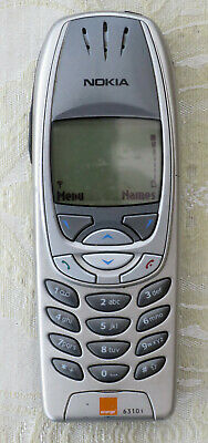 Nokia 6310i - Lightning Silver (Unlocked) Mobile Phone Good used condition