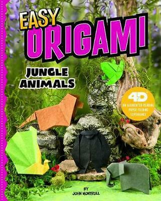 Easy Origami Jungle Animals: 4D an Augmented Reading Paper Folding Experience by