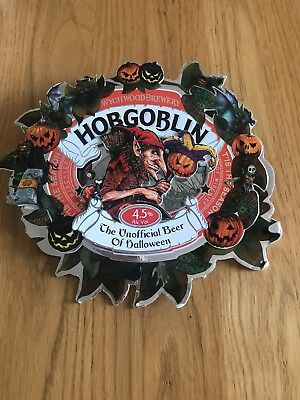 Hobgoblin Light Up Brewery Pump Clip Fronts Used Some Damage