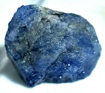 142.70  Ct Natural Violet Blue Tanzanite Untreated AGSL Certified Specimen Rough