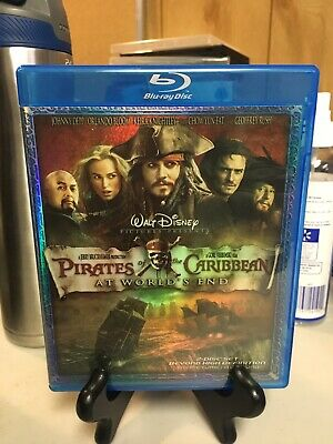 Pirates of the Caribbean: At Worlds End used Blu-ray 2-Discs Disney Johnny Depp