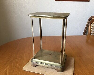 19c French Four Glass Clock Case
