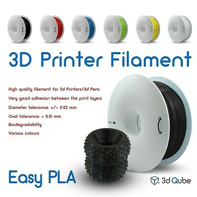 Easy PLA Fiberlogy, 3d Printer Filament 2.85 mm - 0.85 kg, Various colours