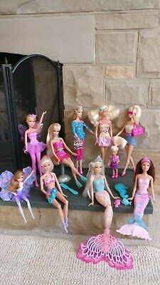 Barbie dolls - Assortment of 10x Dolls & Accessories
