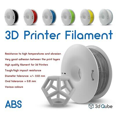 ABS Fiberlogy, 3d Printer Filament 2.85 mm - 0.85 kg, Various colours