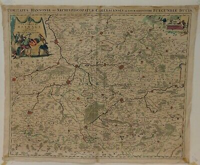 Antique Map Engraving of France, by H Jaillot Paris.