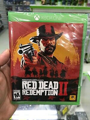 Rockstar Games Red Dead Redemption Ii (2) Xbox One Factory Sealed - Nt 4279