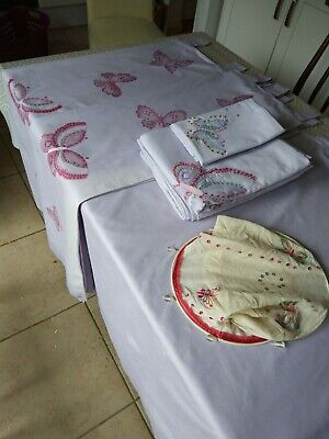 Next curtains, lampshade, bed linen (2 single duvet covers and 2 pillow cases)
