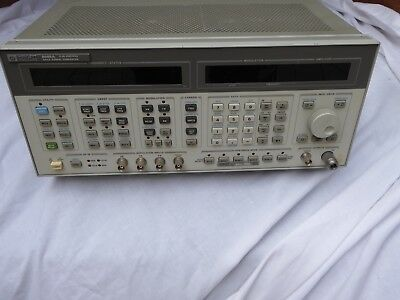 HP 8645A AGILE SIGNAL GENERATOR 0.26-2060MHZ OPT.001.002 - USED for spares