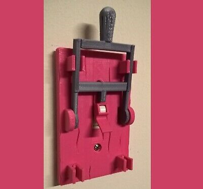 Frankenstein Light Switch Cover Plate Flip Handle Decor Single - Pink