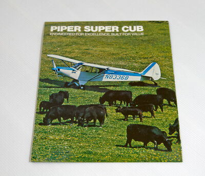 1976 Piper Super Cub brochure
