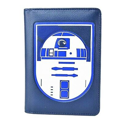 Genuine Lucasfilm Star Wars R2-D2 Droid Passport Holder Wallet Card Travel Boxed