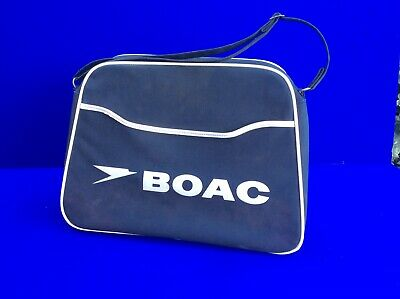 6ed1d9b115 VINTAGE BOAC   British Airways Airline Carry On Bag - £21.00 ...