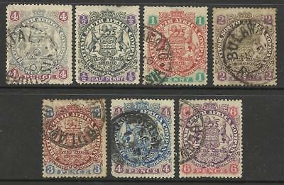 British South Africa Selection Used