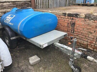 Western 1000 Litre Water  Bowser - Site Water Supply Event Hire Small Holdings