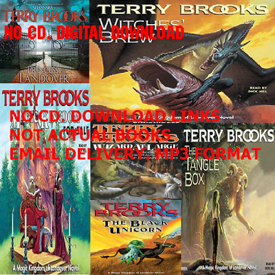 Magic Kingdom of Landover by Terry Brooks 6 AUDIO BOOKS
